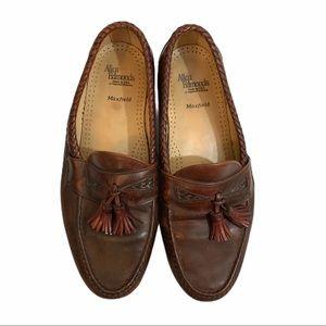 Allen Edmonds loafers Maxfield brown tassel